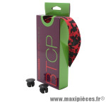 Prix spécial ! Ruban de guidon BikeRibbon CORK PLUS rouge/noir avec liège