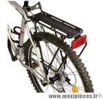 Porte bagage arrière a tringles raider disc brake alu noir marque Zéfal - Matériel pour Cycle