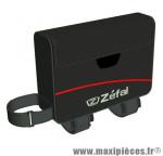Sacoche de cadre z light front pack noir fixation velcro 0,5l marque Zéfal - Matériel pour Cycle