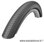 Pneu pour BMX 20x1.75 shredda noir tr (44-406) marque Schwalbe - Pièce Vélo