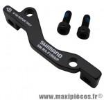 Adaptateur frein a disque disque 180mm étrier standard sur fourche post-mount marque Shimano - Pièce Vélo