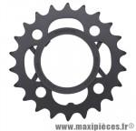 Plateau 22 dents VTT triple acera m361 noir 4 branches marque Shimano - Matériel pour Vélo