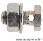 Prix spécial ! Serre cable de frein vélo diam 6x100 trou 2,5mm sous tête (00420000-025) (blister de 25) marque Algi - Pièce Vélo
