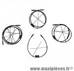 Cable électrique di2 1000mm marque Shimano - Matériel pour Vélo