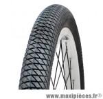 Pneu pour BMX 20x2.00 slick noir tr (50-406) marque GRL - Pièce Vélo
