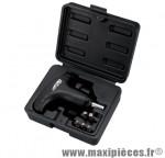 Clé de serrage a déclenchement automatique 12nm avec clé chc 3-4-5-6-8mm marque Super B - Pièce Vélo