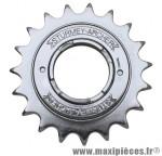 Roue libre 1 vitesses 19d. argent chaine 3.30 marque Sunrace - Matériel pour Vélo