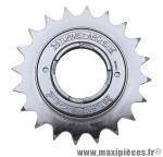 Roue libre 1 vitesses 20d. argent chaine 3.30 marque Sunrace - Matériel pour Vélo