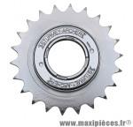 Roue libre 1 vitesses 22d. argent chaine 3.30 marque Sunrace - Matériel pour Vélo
