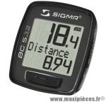 Compteur bc 512 (5 fonctions) marque Sigma - Accessoire Vélo