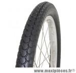 Pneu de remorque 450x55 noir tt (18x1 3/8) (57-390) marque Hutchinson - Pièce Vélo