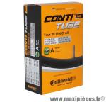Chambre à air de vélo et de dimensions 700x32-47 valve schrader marque Continental - Pièce Vélo