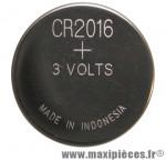 Pile bouton cr2016 3v - Accessoire Vélo Pas Cher