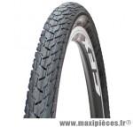 Pneu de vélo city 650x35a noir tr (26x1 3/8) (37-590) marque GRL - Pièce Vélo