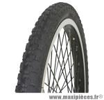 Pneu pour BMX 20x1.75 petit crampon noir tr (47-406) marque GRL - Pièce Vélo