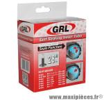 Chambre à air de vélo et de dimensions 700x32-45 anti-crevaison tip-top valve standard marque GRL - Pièce Vélo