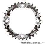 Plateau 32 dents VTT triple deore m532 9v. 4 branches marque Shimano - Matériel pour Vélo