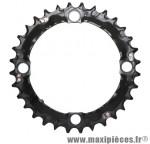 Plateau 32 dents VTT triple deore m480 9v. noir 4 branches marque Shimano - Matériel pour Vélo
