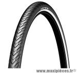 Pneu de vélo city 26x1.85 protek réflecteur tr (47-559) marque Michelin - Pièce Vélo