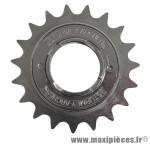 Roue libre 1 vitesses 19d. argent chaine 2.38 marque Sunrace - Matériel pour Vélo