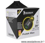 Chambre à air de vélo et de dimensions 29x1.85 protek max valve presta longueur 40mm marque Michelin - Pièce Vélo