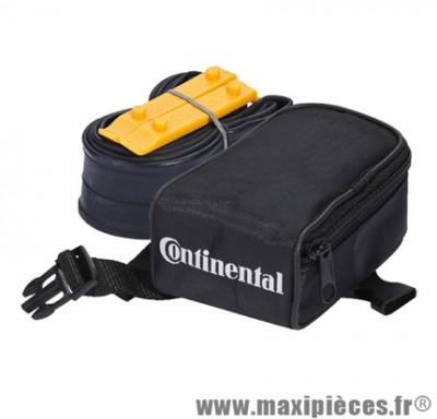 Sacoche de selle VTT 26 avec chambre a air 26 presta + 2 démontes pneus marque Continental - Pièce Vélo