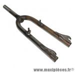 Fourche BMX acier brute pivot filete 1 pouce-22.2 intérieur - Accessoire Vélo Pas Cher