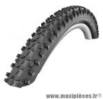 Pneu de VTT 27.5x2.10 smart sam noir tr (54-584) (650b) marque Schwalbe - Pièce Vélo