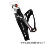 Porte bidon x3 noir/deco blanc marque Race One - Accessoire Vélo