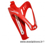 Porte bidon x3 rouge/deco blanc marque Race One - Accessoire Vélo