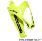 Porte bidon x3 jaune fluo/deco noir marque Race One - Accessoire Vélo