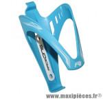 Porte bidon x3 bleu ciel/ deco blanc marque Race One - Accessoire Vélo