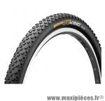 Pneu de VTT 29x2.00 x-king performance noir tubetype/tubeless ts (50-622) marque Continental - Pièce Vélo
