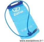 Poche a eau 2l ouverture totale et nettoyage facile marque Zéfal - Matériel pour Cycle