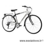 Vélo VTC 28 trend acier homme 6v blanc/anthracite (taille 48) (shimano rs-35+ty-21) marque Jumpertrek - VTC complet