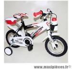 Vélo pour enfant 12 funky acier garçon noir/blanc marque Jumpertrek - Vélo - Vélo pour enfant complet