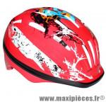 Casque vélo enfant rouge avec lock (taille 48-52) marque Newton - Pièce Vélo