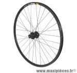 Roue VTT 29 pouces mavic xm319 disc arrière noir œillet moy shimano m475 10/9v noir ray inox marque Vélox - Pièce Vélo