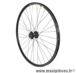 Roue VTT 27.5 pouces disc mavic xm319 avant noir œillet moy shimano m475 disc noir ray inox marque Vélox - Pièce Vélo