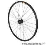 Roue VTT 29 pouces mavic xm319 disc avant noir œillet moy shimano m475 disc noir ray inox marque Vélox - Pièce Vélo
