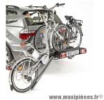 Porte vélo plateforme pour 2 vélos électriques verrouillage instantané - Accessoire Vélo Pas Cher