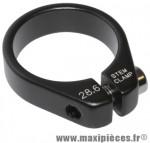 Collier serrage pivot de fourche 1 pouce 1/8-28.6mm chc alu noir - Accessoire Vélo Pas Cher