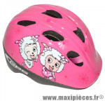 Casque vélo enfant cheeky rose girls (taille 46-53) système turnlock (vendu sous cavalier) marque GES - Equipement Cycle