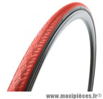 Pneu pour vélo de route 700x23 zaffiro progrip rouge (protection anti-crevaison) 60tpi ts (23-622) marque Vittoria - Pièce Vélo