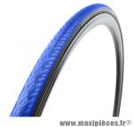 Pneu pour vélo de route 700x23 zaffiro progrip bleu (protection anti-crevaison) 60tpi ts (23-622) marque Vittoria - Pièce Vélo