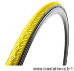 Pneu pour vélo de route 700x23 zaffiro progrip jaune (protection anti-crevaison) 60tpi ts (23-622) marque Vittoria - Pièce Vélo