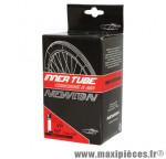 Chambre à air de vélo et de dimensions 29x2.10-2.40 valve schrader marque Newton - Pièce Vélo