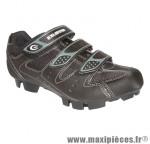 Chaussure VTT e-sm324 noir 3 velcros t39 (paire) marque Exustar - Equipement Vélo pour cycliste