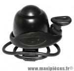 Sonnette ping easy noir 25.8/31.8mm marque Newton - Pièce Vélo