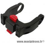Fixation de panier avant VAE (vélo électrique) sur cintre diam 22-26mm +31.8mm marque Klickfix - Accessoire Vélo